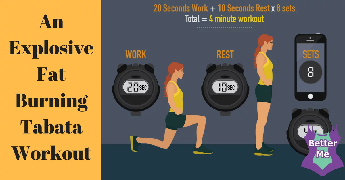 Try Tabata: An Explosive Fat Burning Workout