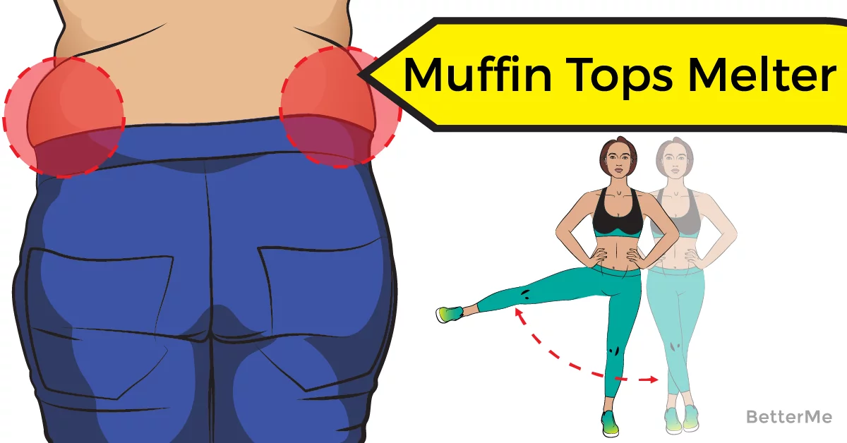 how to get rid of muffin top in 2 weeks