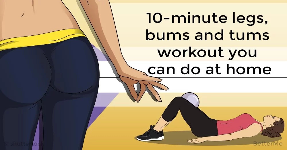 10 Minute Legs Bums And Tums Workout You Can Do At Home