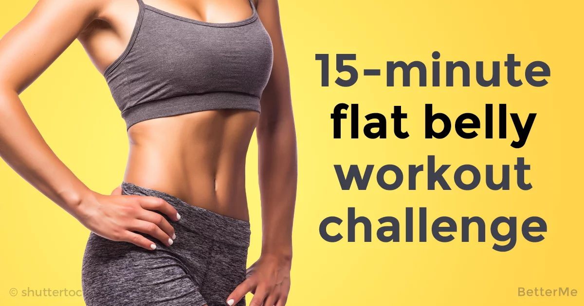 15 Minute Flat Belly Workout