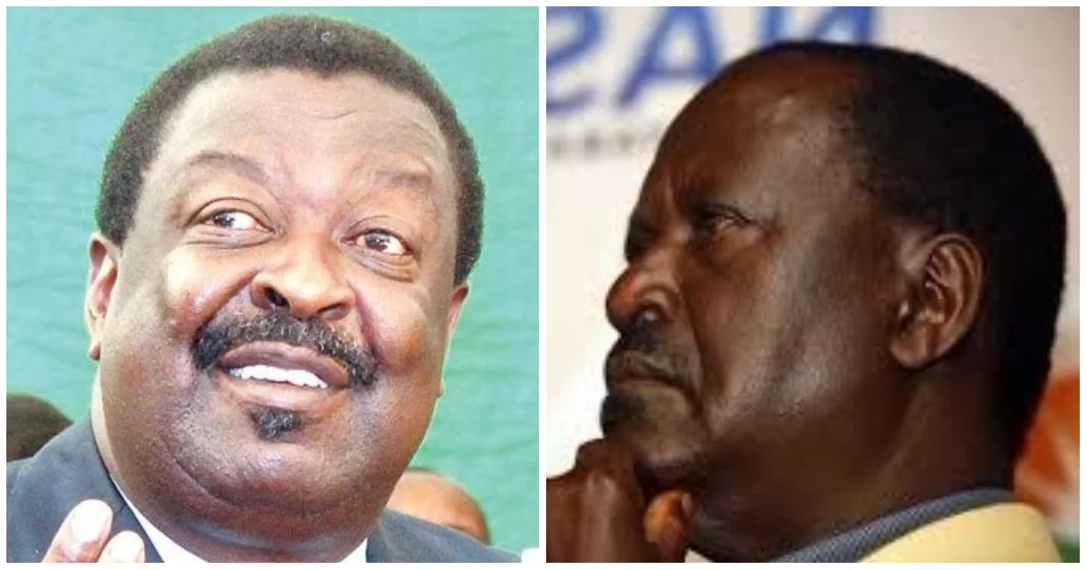Mudavadi sharply differs with Raila on call for fresh ...