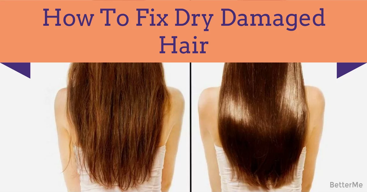 how to fix really dry hair