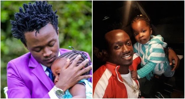 Bahati spends Easter with his first-born daughter Mueni