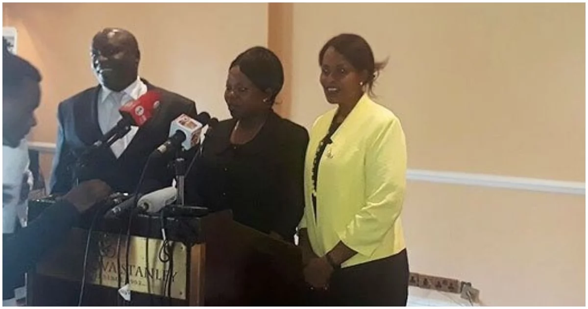 IEBC Vice Chair Consolata Maina, 2 commissioners resign ...