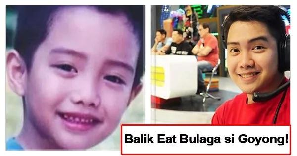 Direk Na Siya Ngayon Former Eat Bulaga Child Star Quot Goyong