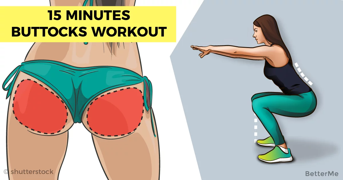 15 minutes round buttocks workout