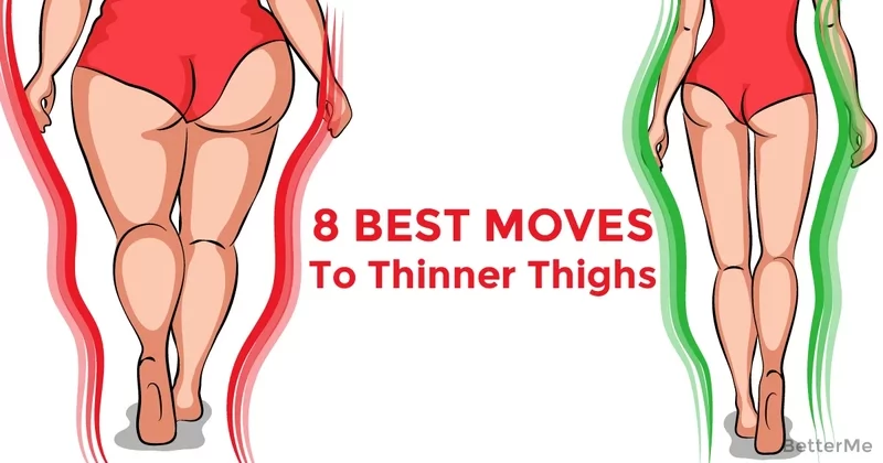 how to make your thighs thinner in a day
