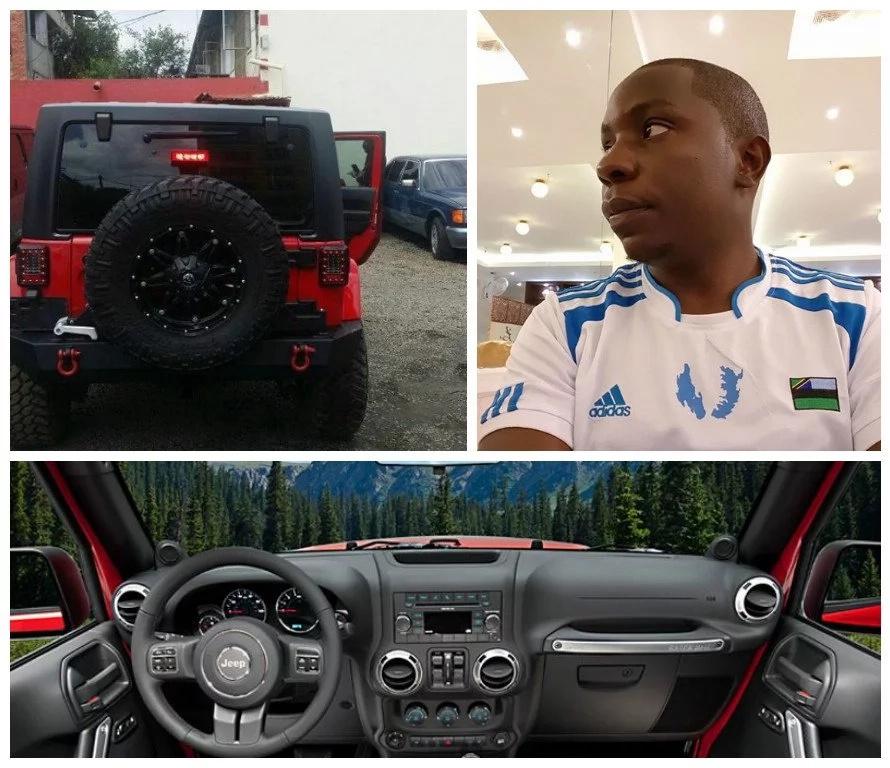 Samuel Abisai New Car