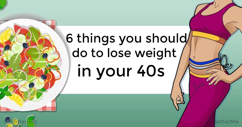 how to lose weight in your 40s